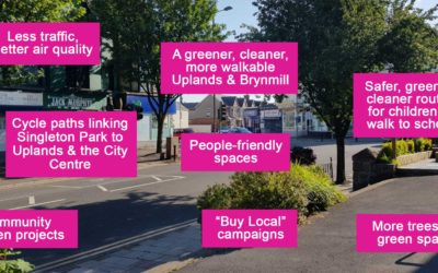 Living Streets Group Launched in Uplands!
